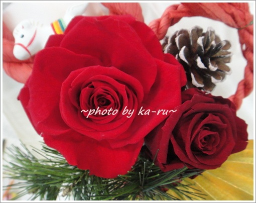 しめ飾り「迎春」3