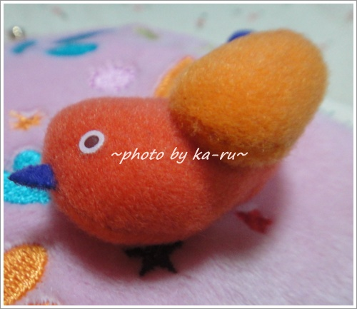 ふかふかがま口ミニポーチ(mini labo)2
