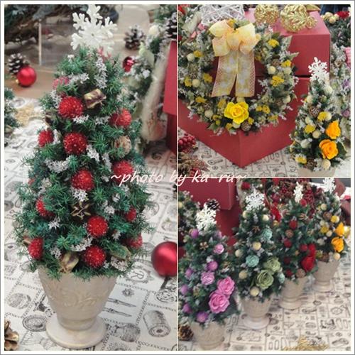 日比谷花壇 ドライフラワーリース「リース ド ロゼ」11