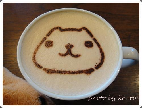 カピバラさん Kyururun Cafe meets Sign8