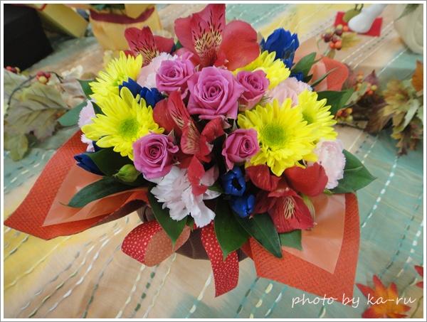 スイーツ+お花日比谷花壇7