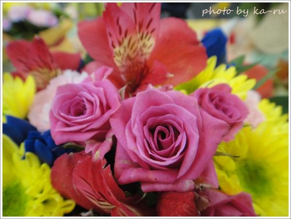 スイーツ+お花日比谷花壇9