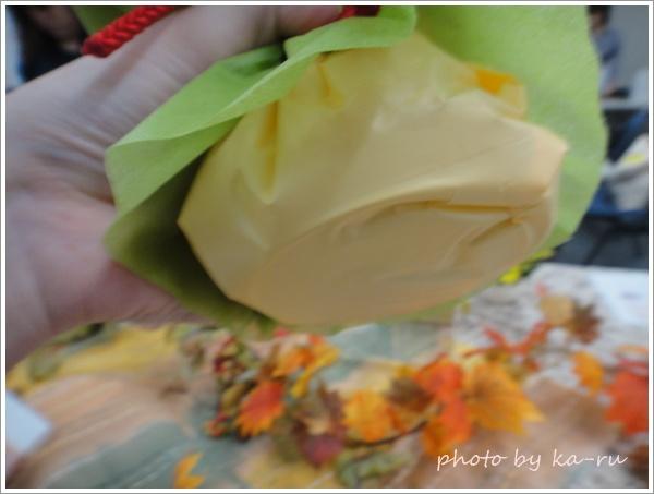 そのまま飾れるブーケ「花結び」5