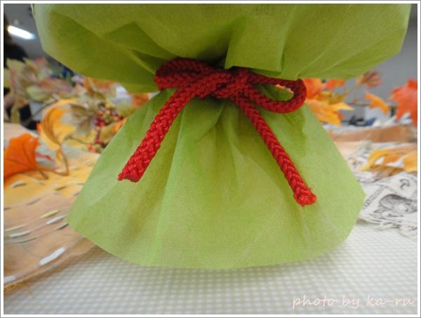 そのまま飾れるブーケ「花結び」9