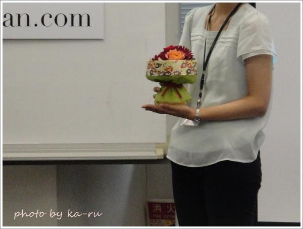 そのまま飾れるブーケ「花結び」6
