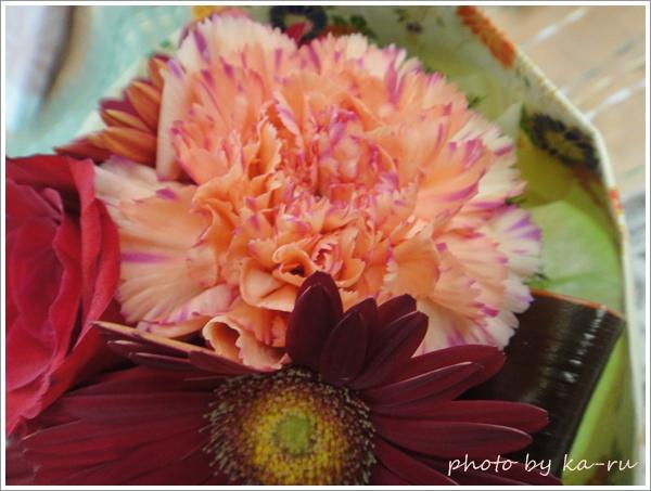 そのまま飾れるブーケ「花結び」8