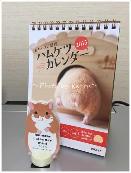 ハムスターカレンダー20159