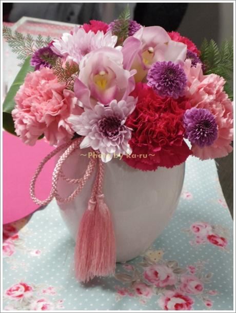 母の日に和風のアレンジメントを贈るなら日比谷花壇の「撫子」