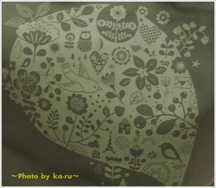 日本製レザー持ち手のキャンバストートバッグ(mini labo)11