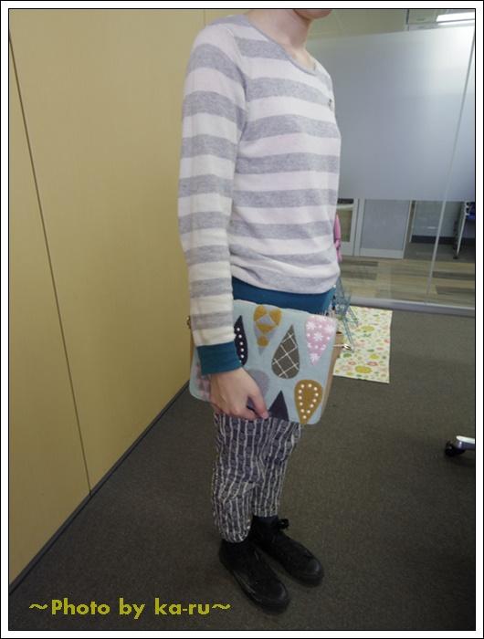 2ウェイサガラ刺繍ショルダーバッグ(mini labo)7