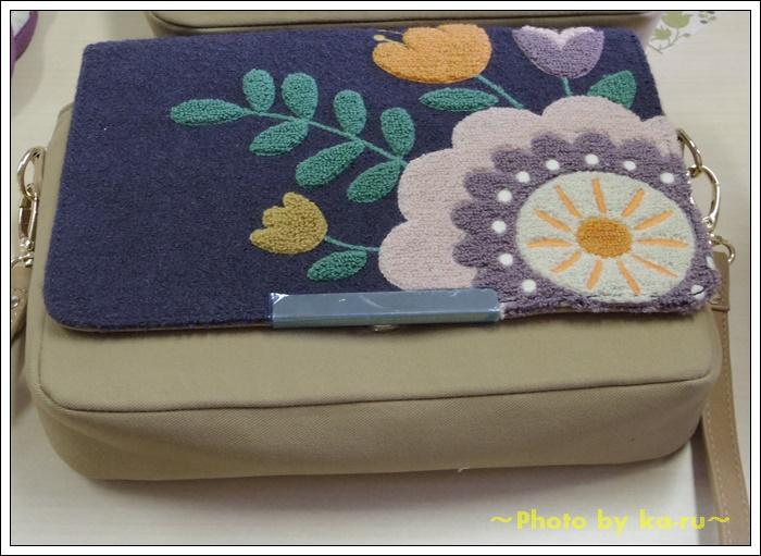 2ウェイサガラ刺繍ショルダーバッグ(mini labo)2