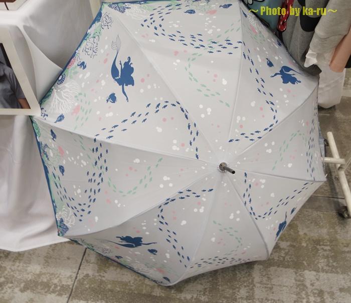 深海イメージの雨傘(ディズニー)2