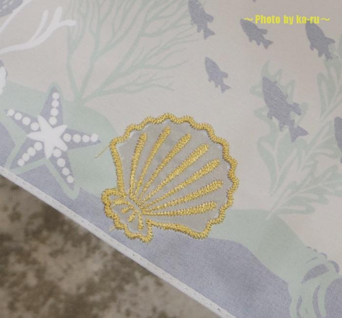 深海イメージの雨傘(ディズニー)1