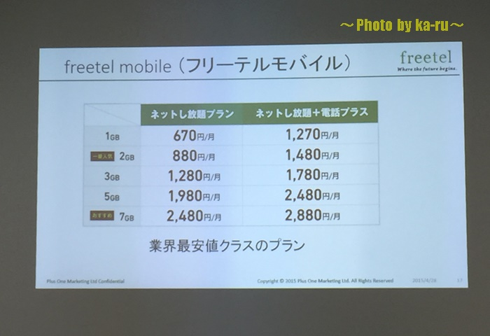 freetel(フリーテル)priori2(プリオリツー)6