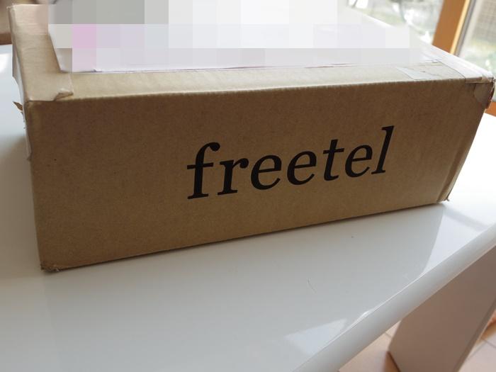 「1 開封の儀」モニターで約2週間使ってみたfreetel(フリーテル)「priori2」