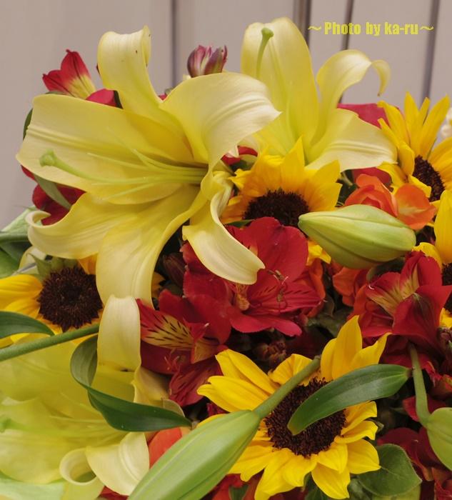 父の日にプレゼントするお花は「花言葉」にこだわって贈ろう!花束「Dear Father」