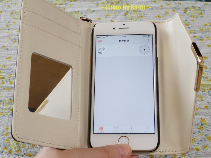 バイカラーiPhone6ケース0011