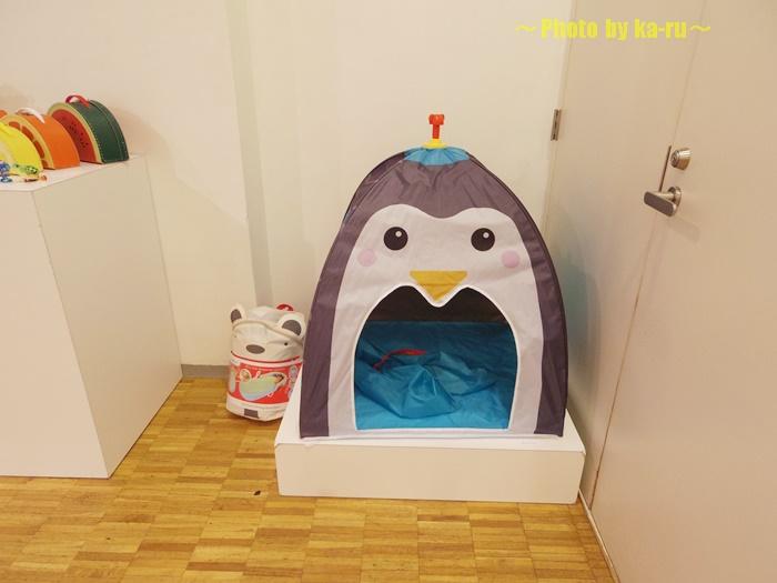 ペンギンさんのテントは子供が喜びそう! MoMA STORE