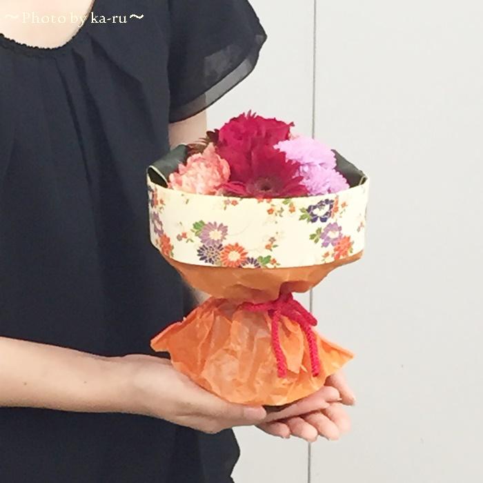 日比谷花壇 そのまま飾れるブーケ「花結び」7