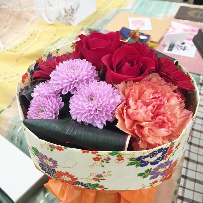 日比谷花壇 そのまま飾れるブーケ「花結び」6