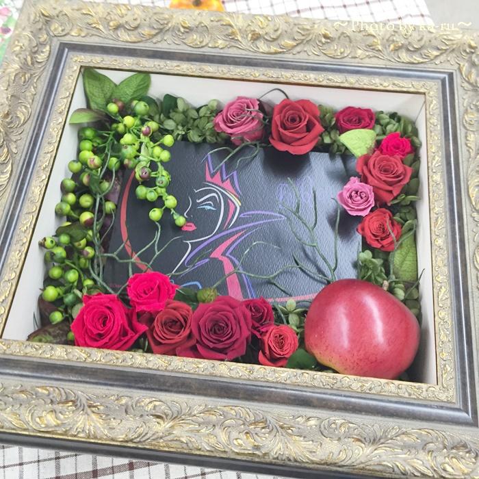 日比谷花壇 ディズニー フラワーフレームアート「ウィックド・クイーン」8