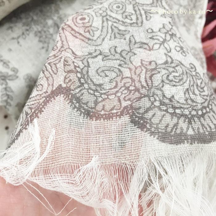 日比谷花壇 UCHINO TOWEL GALLERY「レース麻綿ストールのセット」8