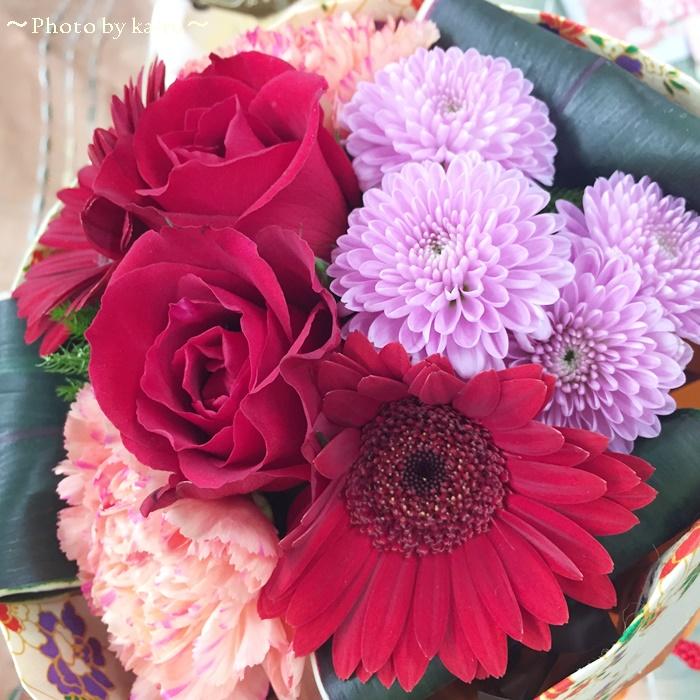 日比谷花壇 そのまま飾れるブーケ「花結び」5