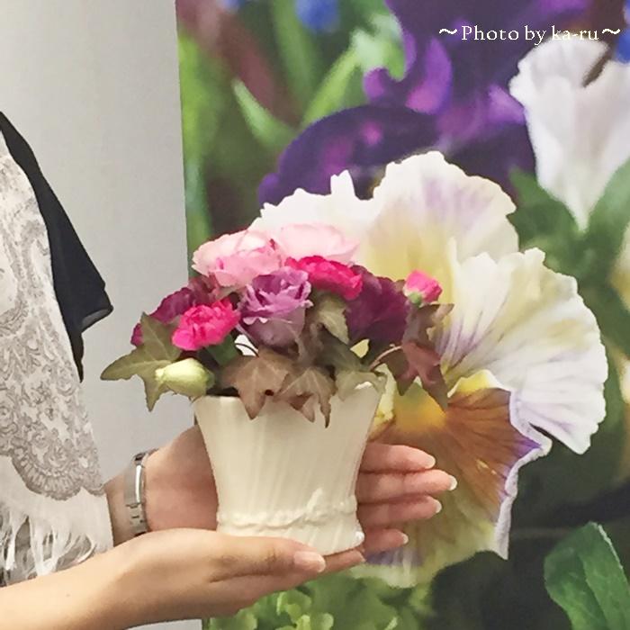 日比谷花壇 UCHINO TOWEL GALLERY「レース麻綿ストールのセット」9