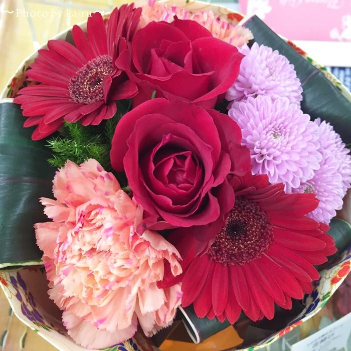 日比谷花壇 そのまま飾れるブーケ「花結び」3