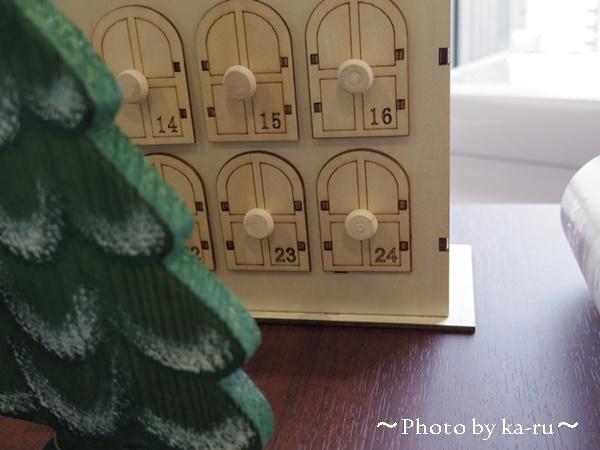 ウッドクリスマスカレンダー クリスマスマーケット5