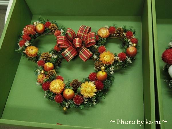ディズニー ドライフラワーリース「クリスマス ミニー」を飾ろう