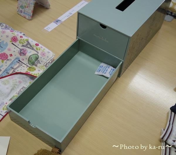 ティッシュボックスケース(引出し付き)(mini labo)_3
