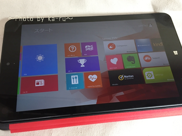 「ThinkPad 8」「ThinkPad 8 クイックショット・カバー」_6