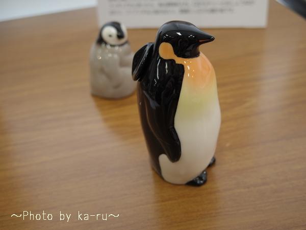 フェリシモ YOU+MORE! じーっと出番を待つペンギン親子のしょうゆ差し&塩入れ_2