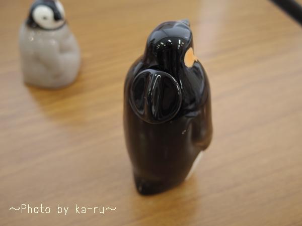 フェリシモ YOU+MORE! じーっと出番を待つペンギン親子のしょうゆ差し&塩入れ_3