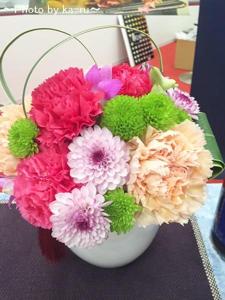 日比谷花壇アレンジメント「花てまり」IMG_9460_001