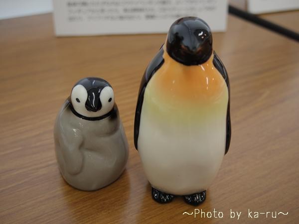 フェリシモ YOU+MORE! じーっと出番を待つペンギン親子のしょうゆ差し&塩入れ_6