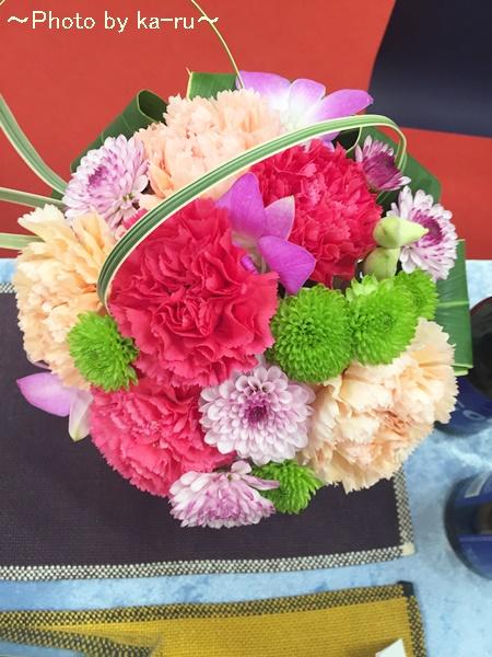 日比谷花壇アレンジメント「花てまり」IMG_9463_003