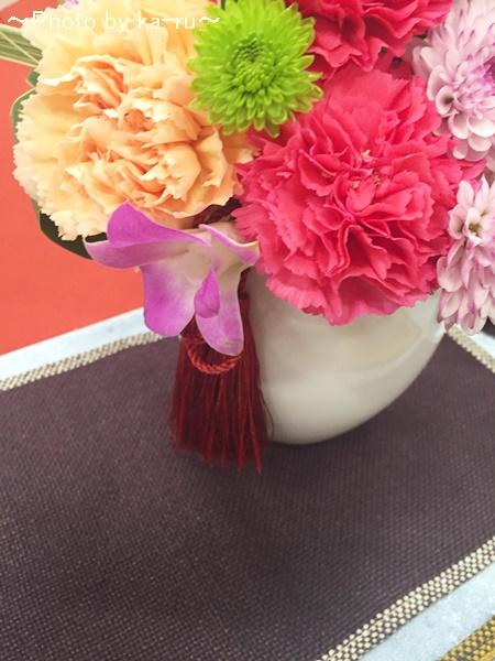 日比谷花壇アレンジメント「花てまり」IMG_9461_002