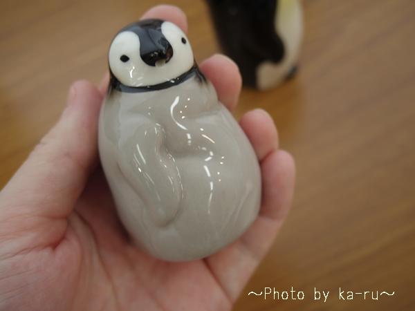 フェリシモ YOU+MORE! じーっと出番を待つペンギン親子のしょうゆ差し&塩入れ_7