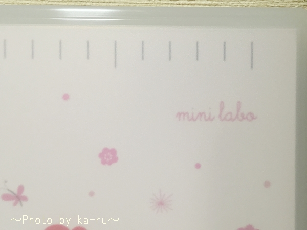 ベルメゾンネット 抗菌リバーシブルまな板(mini labo)_5