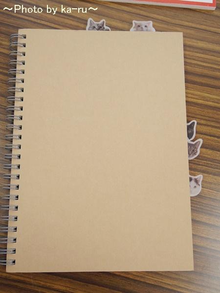 フェリシモ そこにいたの!? ノートで遊ぶ 猫ふせんの会IMGP9305_001