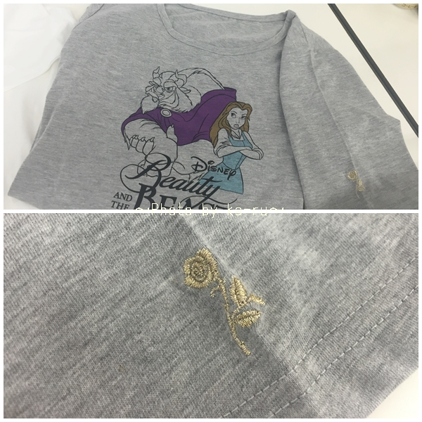 レアキャラTシャツ【美女と野獣】_2