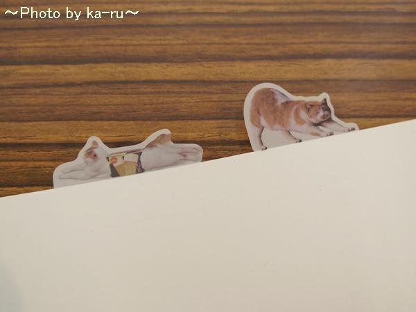 フェリシモ そこにいたの!? ノートで遊ぶ 猫ふせんの会IMGP9326_012