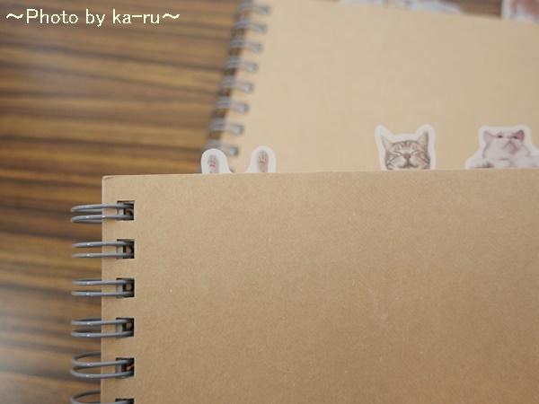 フェリシモ そこにいたの!? ノートで遊ぶ 猫ふせんの会IMGP9319_011
