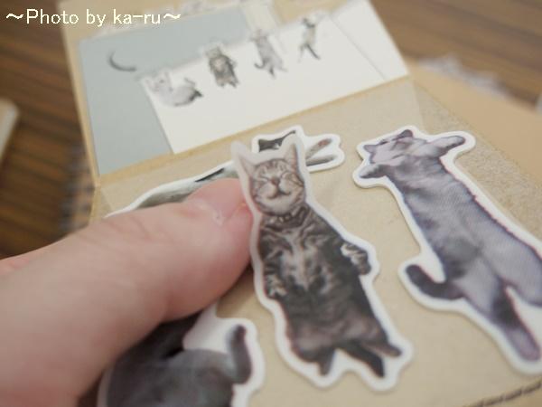 フェリシモ そこにいたの!? ノートで遊ぶ 猫ふせんの会IMGP9317_008
