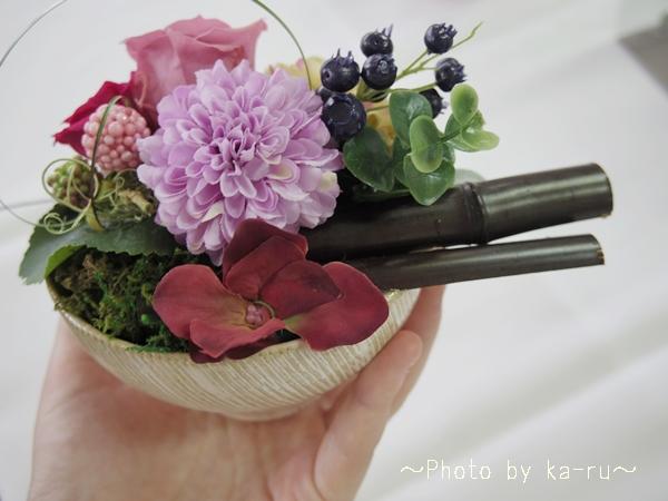 プリザーブドフラワー「花咲日和」_5