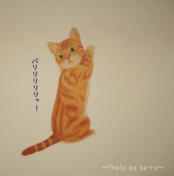 猫のウォールシールの会_k3