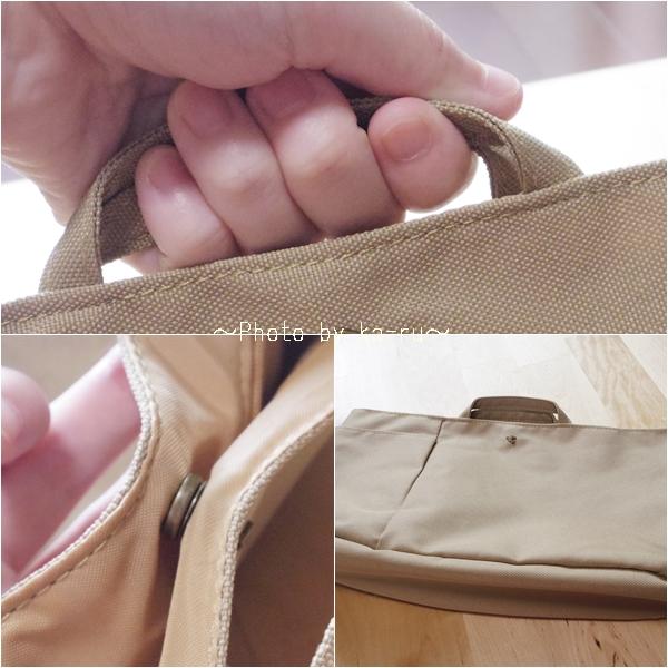 フェリシモ 整とん バッグインポケット_k1