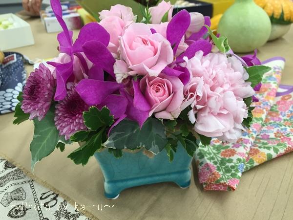 「雑貨とお花」のセット!2016年日比谷花壇のオススメ敬老の日プレゼント!
